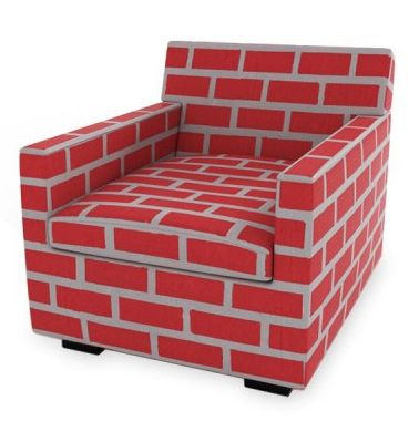 Bricks and Mortar Armchair