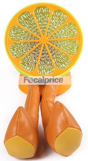 Orange with Legs Shaped 4-color Decorative Light Lamp