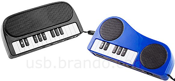 USB Mini Piano MP3 Player