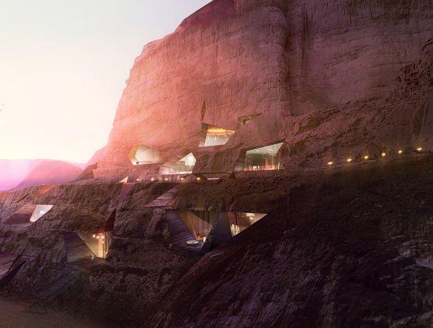 Desert lodges