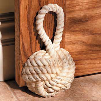 Sailor's Knot Decorative Doorstop