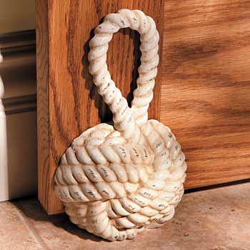 Sailor's Knot Decorative Doorstop