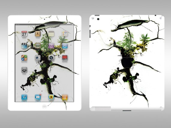 Vinyl iPad2 Full Body Sticker Decal Skin