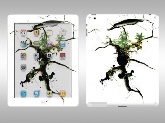 Vinyl iPad2 Full Body Sticker Decal Skin