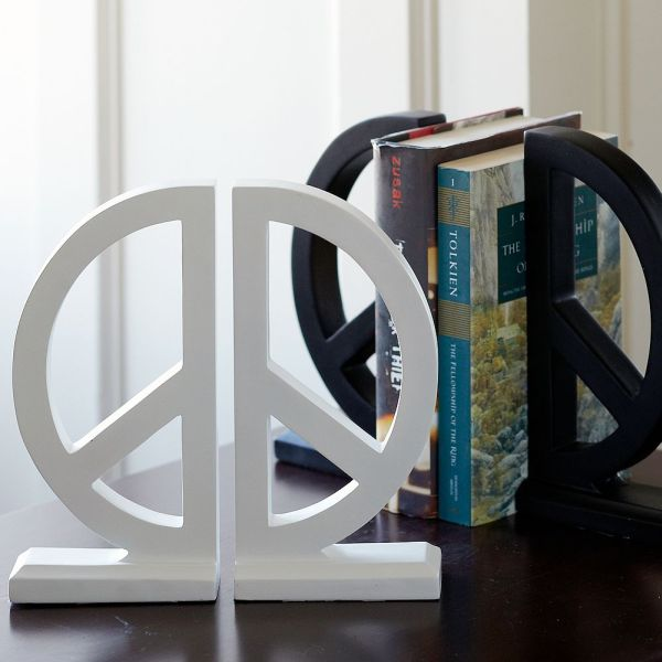 Peace Bookends