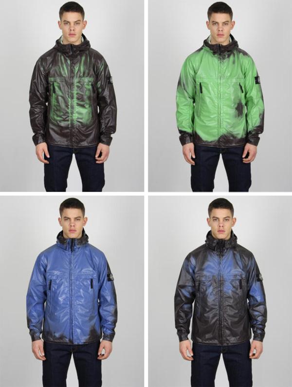 Heat Reactive Jacket in Green