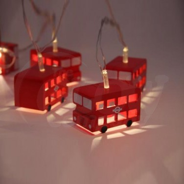 London Bus String Lights