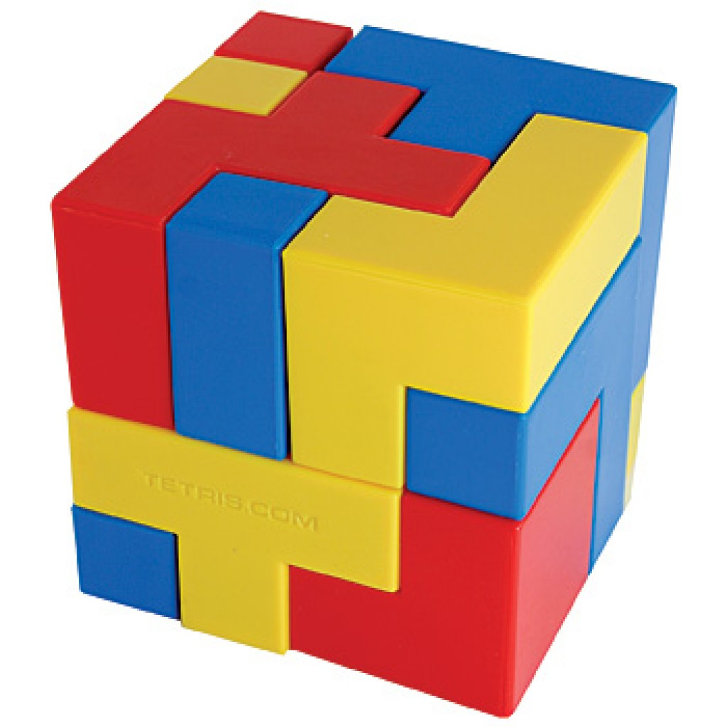 Tetris Puzzle Cube – Gadgets Matrix