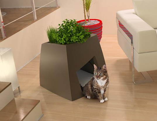 Planter Pet House