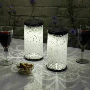 Solar Silhouette Lanterns