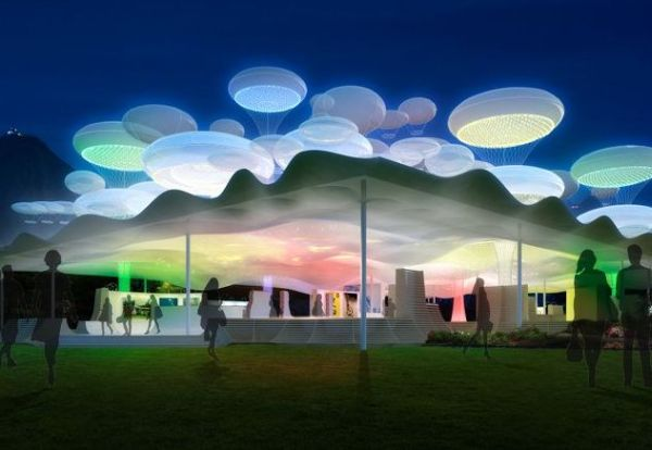 Prefab Balloon Pavilion