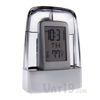 Digital Alarm Water Powered Environment Friendly Clock
