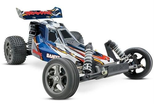 Traxxas Bandit VXL Brushless Buggy with 2.4Ghz Radio Battery