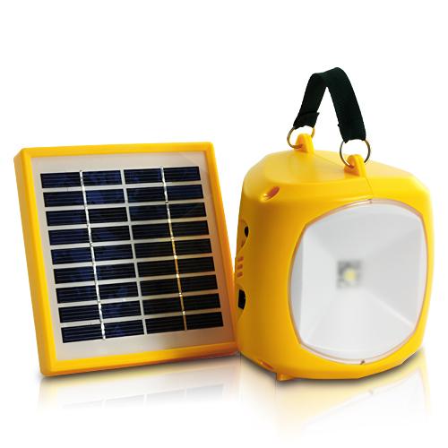 Ultra Portable and Bright Solar Lantern