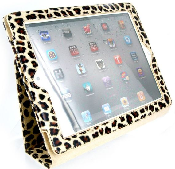 Portfolio Leather Case for iPad 2