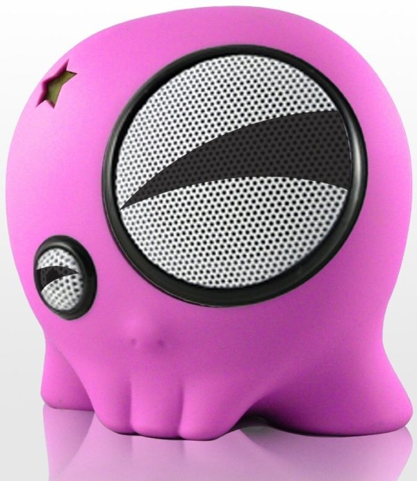 SkullyBoom SB1 Portable Speaker for iPod/iPhone