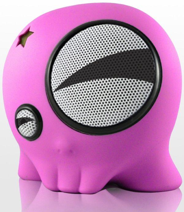 SkullyBoom SB1 Portable Speaker for iPod/iPhone