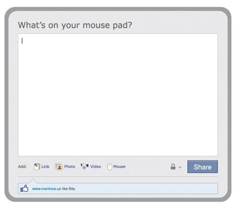 Facebook Mousepad
