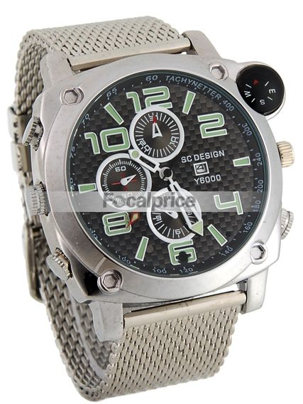 High Definition Water Resistant Watch Spy Camera with Compass Set