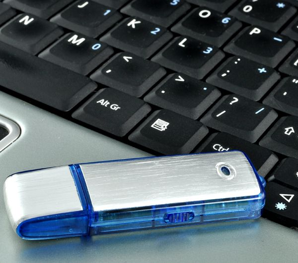 USB Flash Drive Spy Audio Recorder