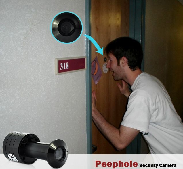 получить доступ скрытая камера на дверь цнна человека