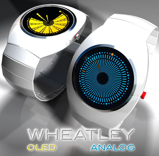 Portal 2 Inspired Watch Design