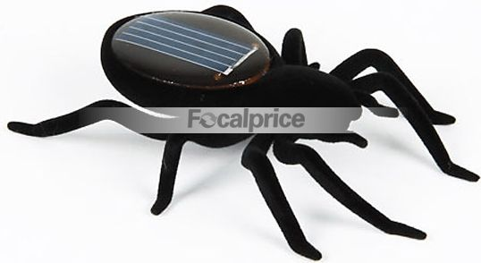 Funny Solar Powered Spider Robot toy