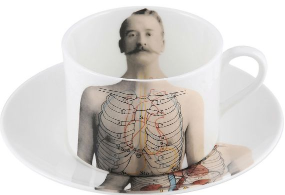 Anatomica Coffee cup & saucer