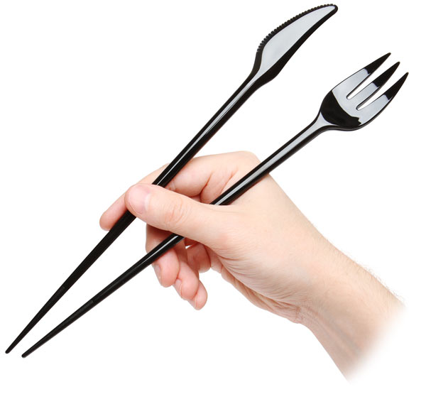 ForkChops 3-in-1 Eating Utensils