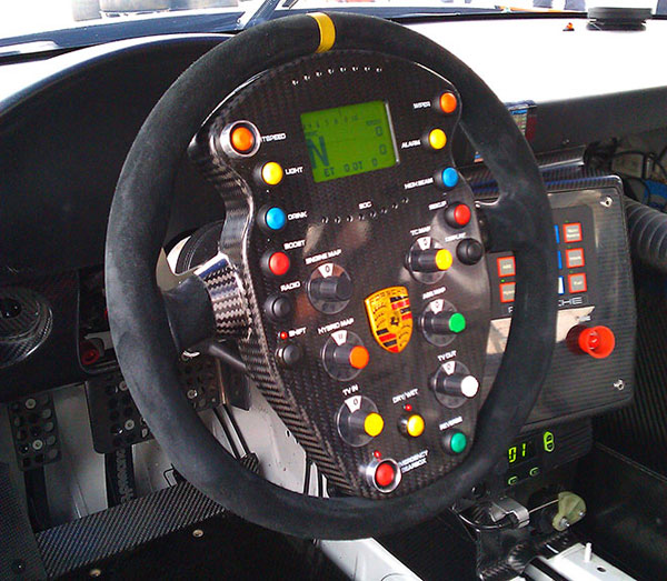 Porsche 911 GT3 Hybrid Racecar