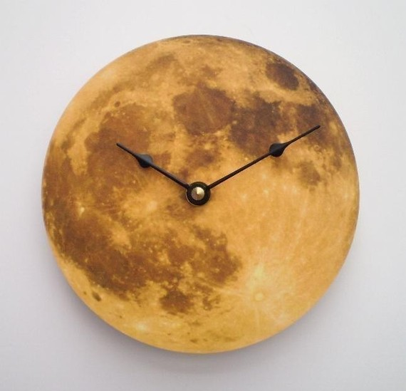 Autumn Moon Clock