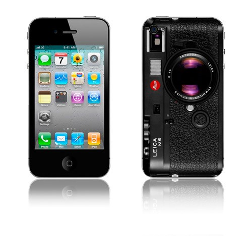 Iphone 4 Skin: Leica M6 Camera