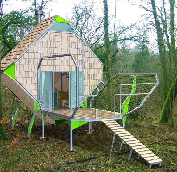 Les maisons sylvestres for le vent des forêts