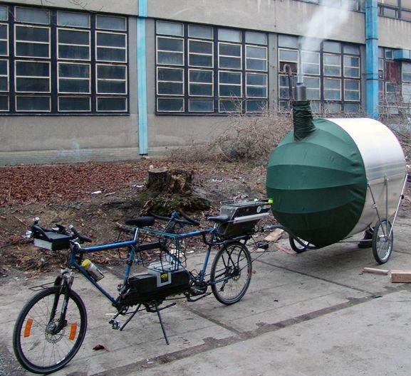 Bike sauna