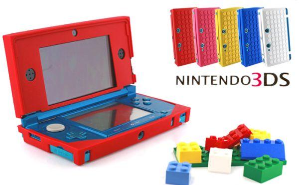 Nintendo 3DS Block Silicon Case