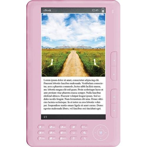 Ematic 4GB 7″ Touch Screen eBook Reader