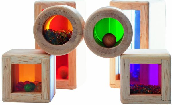 Friendly Rainbow Sound Blocks