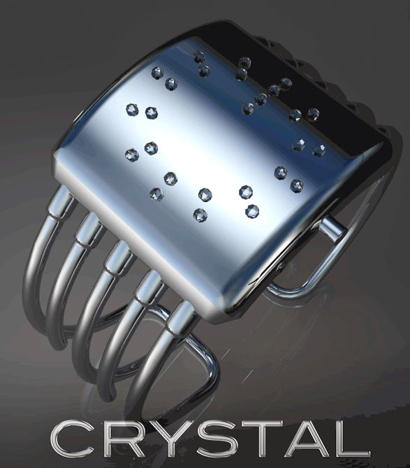 Crystallized LED Watch Design