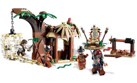 LEGO The Cannibal Escape