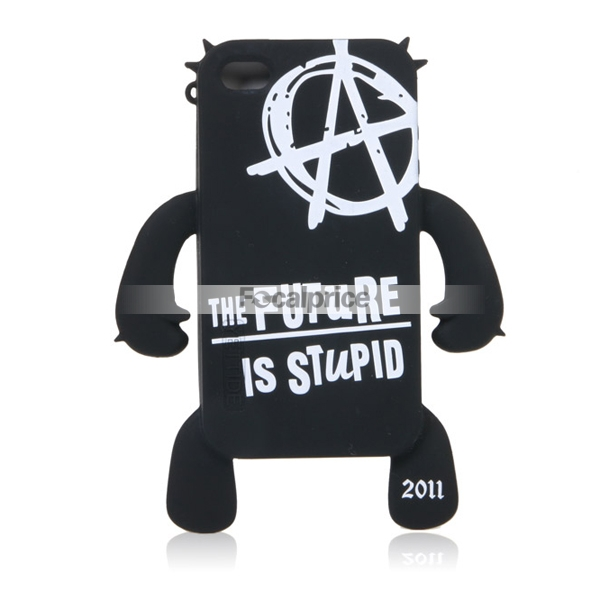 Robot Silicon iPhone 4 Case