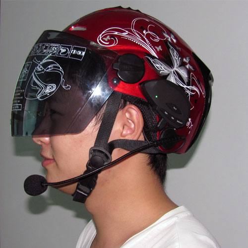 Wireless Bluetooth Sport Helmet Earphone for Motorcycle