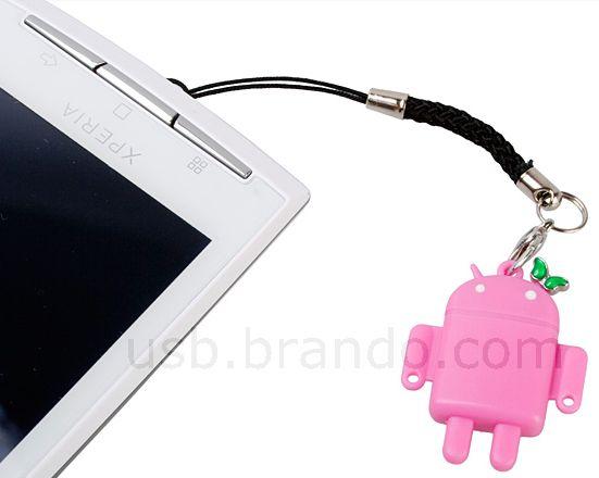USB Robot microSDHC Card Reader