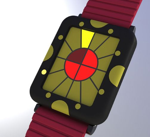 Fun Colors LED Watch Design