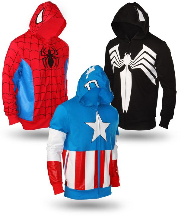 Marvel Superhero Hoodies
