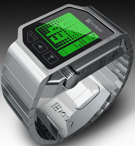 How Drunk Are You? This LCD Watch Design Will Tell You!