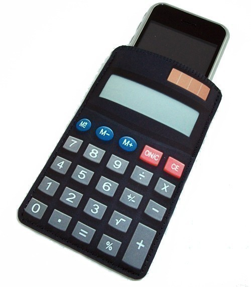 iPhone Case Math Faux Calculator Geek Gadget Case