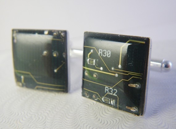 Made to Order Circuit Cuff Links