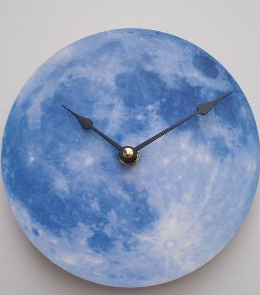 Blue Moon Clock