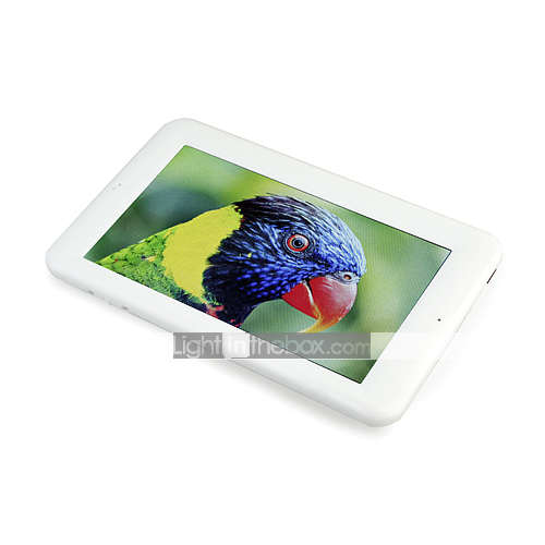 Touch Screen HD Portable Media Player With Flash UI