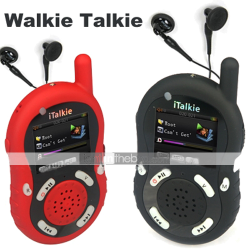 MP4 Walkie Talkie